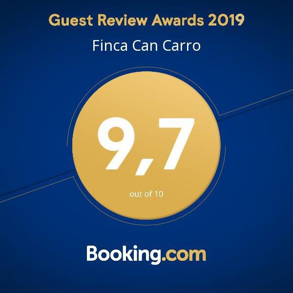 Can Carro Booking Award 2019